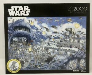 New Battle Of Hoth Star Wars Jigsaw Puzzle  2,000 Pieces - Buffalo Games