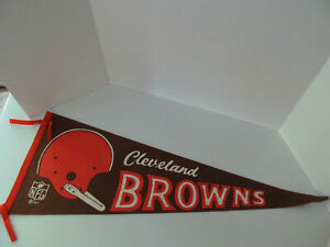 1967 Cleveland Browns Pennant Blunt Tip