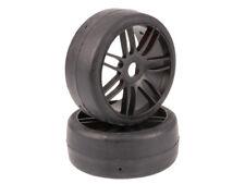 Grp 1: 8 Gt Course Jeu Reifen Medium GTX02-S5 Noir Pmt Balayage Rc Voiture