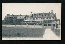 France LE-TOUQUET-PARIS-PLAGE Golf Hotel LL Louis Levy c1900/10s? PPC sport