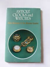 Antique Clocks and Watches State Museums Moscow Postcard Postkarte Antike Uhren