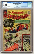 Amazing Spider-Man 14 (CGC 3.0) 1st appearance of the Green Goblin; Ditko C387