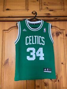 NBA - Boston Celtics Jersey - Pierce #34 - Adidas - Size Small