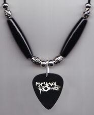 My Chemical Romance Party Poison Killjoy Guitar Pick Necklace MCR