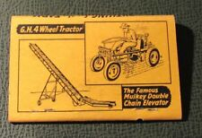 Matchbook - Lehr Equipment Bowling Green KY Richmond IN FULL 40 Strike tractors