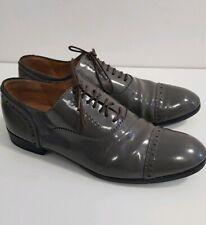 MARC BY MARC JACOBS Budapester feminin Schnürschuh 38,5 grau Schuhe Dandy Shoes
