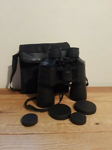Pair Of 10 X 50 Binoculars And Case