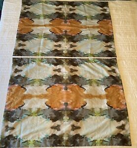 Laura Park Designs Standard MicroLux Pillow Shams Pair of 2 New without Tag