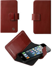 Etui Trexta bordeaux Rotating Folio iPhone 5 rotatif
