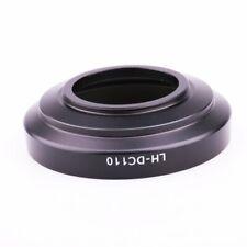 Matel Lens Hood LH-DC110 For Canon PowerShot G1X Mark III +58mm Center Lens cap