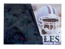 1997 CE Masters LEON JOHNSON New York Jets Crucibles Rookie Insert Card