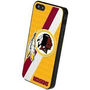 iPhone 5 Washington Redskins NFL 3D Faceplate Protective Hard Case Cover New