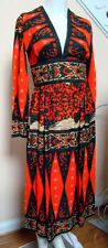 Vintage 1970s VICTOR COSTA for SUZY PERETTE Mod Midi Length Dress 6