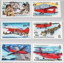 Brits Antarctica 225-230 transportmiddel 1994  postfris