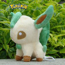 "Pokemon Plush Toy Leafeon 5"" Nintendo Game Cuddly Soft Stuffed Animal Doll  B006"