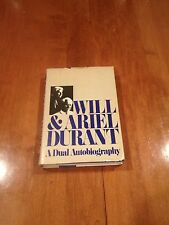 A Dual Autobiography by Will Durant Ariel Durant 1977 Hardcover Deluxe