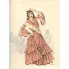 Print - Edouard Chimot: La danseuse de Flamenco - Ready to frame