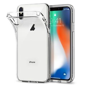 Coque Housse Ultra Fine Transparente iPhone X XR XS MAX 11 12 PRO 6s/7/8/Plus SE