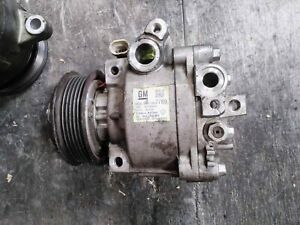 OEM 13-15 Chevy Sonic AIR CONDITIONING COMPRESSOR ASSEMBLY 1.8L