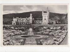 Balmoral Castle & Garden Vintage RP Postcard 438a