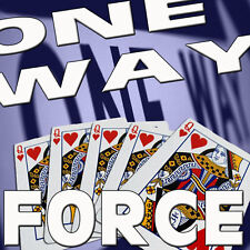 ONE WAY FORCING BLUE BICYCLE DECK COLORED JOKER ONLY PLAYING CARDS MAGIC TRICKS
