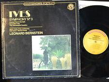 1983 - Ives - Symphony No. 3 - Bernstein - CBS Masterworks Portrait - MP 3877 EX