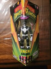"Mighty Morphin Power Rangers Zack Black Ranger 5"" Legacy Figure Bandai 2014"