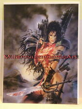 RARE SIGNED by Luis Royo ~ Julie Strain Heavy Metal  F.A.K.K. 2  Poster  NEW