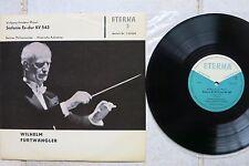 "Wolfgang Amadeus Mozart Sinfonie Es-dur KV 543 10""-LP ETERNA 720158 Furtwängler"