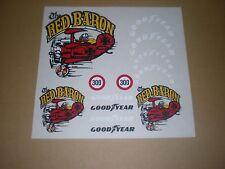 "MANTUA stickers GOOD YEAR "" RED BARON """