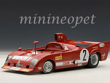 AUTOart 87504 ALFA ROMEO 33 TT 12 #2 1000km 1975 MONZA WINNER 1/18 MODEL CAR RED
