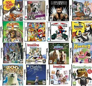 Nintendo DS Video Game Buy 1 or Bundle Up - Mario Kart Party Disney Imagine