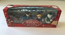 Rudolph The Red Nosed Reindeer 4 Figurines Set Sam Clarice Hermey Yukon