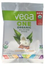 20 Pack Plant Based VEGA One - All in One Shake COCONUT ALMOND Exp 02/2021  (C2)