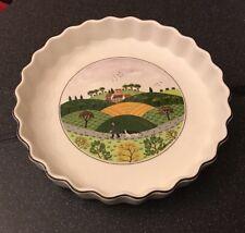 VILLEROY & BOCH VILBOFOUR Naive flan quiche tarte plat. 21 cm figurées campagne