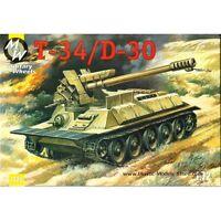 T-34-85 Nva Médio Tanque Norte vietnamita Armor Rodas Militar 7210-1//72