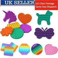 Push Pop Bubble Special Needs Silent Sensory Fidget Kids Toy Autism UK FAST POST