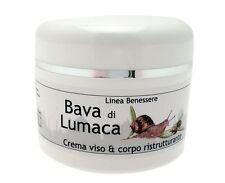Crema viso alla bava di lumaca idratante ml.50 anti age rughe decongestionante