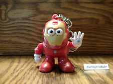 Marvel Mr Potato Head Poptaters Keyrings Iron Man