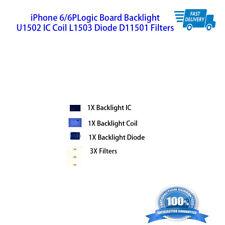 Logic Board Backlight U1502 IC Coil L1503 Diode D11501 Filters iPhone 6 / 6plus