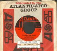 Drifters - I Count The Tears  Vinyl 45 rpm Record Free Shipping