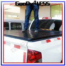 "04-18 Ford F150 Truck 5'6"" 66"" Bed Solid Hard Trifold Clamp-On Tonneau Cover"