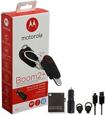 Motorola Boom 2+ PLUS -HD Flip Bluetooth Water Resistant Durable W/ Car Charger