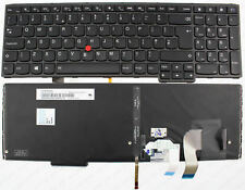 LENOVO YOGA 15 ThinkPad S5 S5-531 BACKLIT KEYBOARD UK 00HW679 SN20E75404 NEW