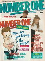 NUMBER ONE MAGAZINE CAROL DECKER & RONNIE (NO PANTS!) KIM WILDE U2 OCTOBER 1988