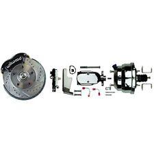 64-74 GM Wilwood Front Disc Brake Conversion Kit Drop Spindles No Booster
