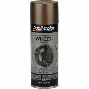 Duplicolor HWP105 High Perf. Bronze Wheel Rim Coating 12oz Aerosol Spray Paint