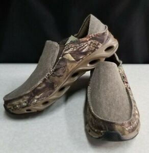 SKECHERS 210231 MOSSY OAK CAMO RELAXED FIT SLIP ON SHOES~NEW W/TAGS~CHOOSE SIZE