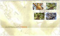 2015 FDC Australian Trees. Various FDI postmarks