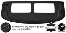 GREY STITCH REAR PARCEL SHELF REAL LEATHER COVER FOR MERCEDES S CLASS SEC W126